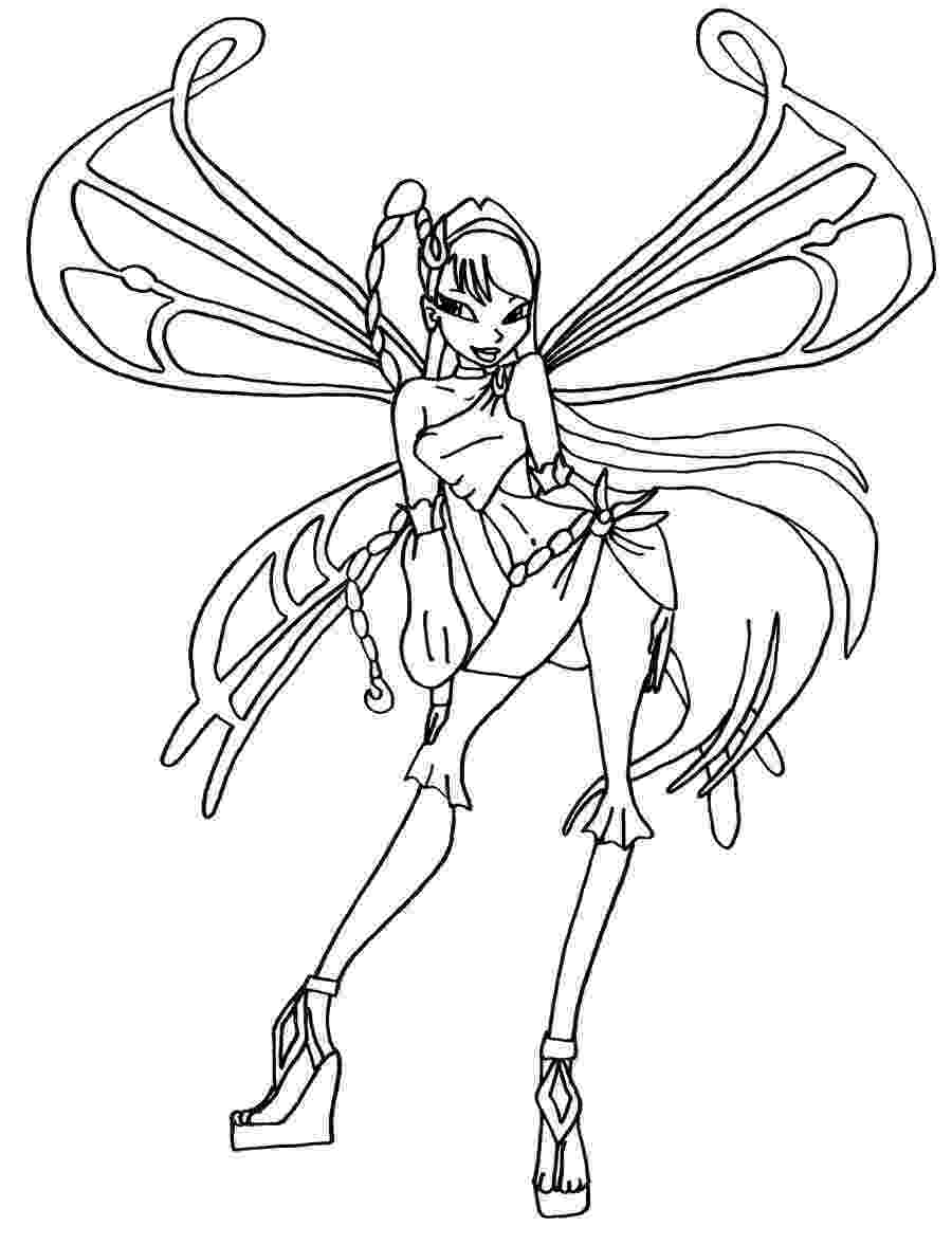 winx club pictures black and white winx pixies coloring pages for kids and for adults club black pictures white winx and