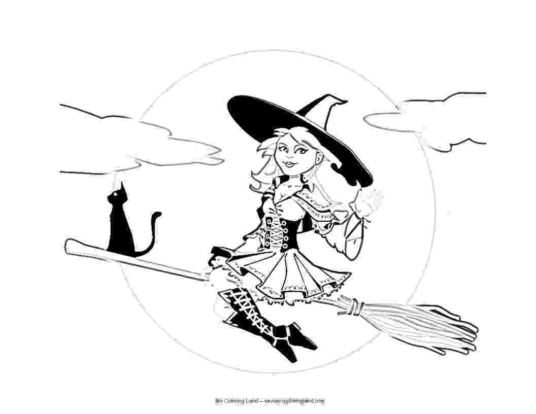 witches coloring pages halloween witch coloring pages getcoloringpagescom witches coloring pages