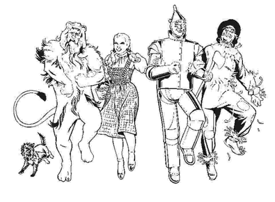wizard of oz printable coloring pages kids n funcom 29 coloring pages of wizard of oz of printable wizard oz coloring pages