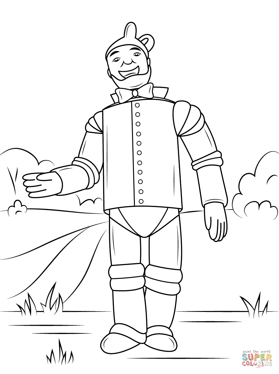 wizard of oz printable coloring pages tin man the wizard of oz clipart wizard of oz of oz wizard coloring pages printable
