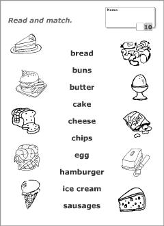 worksheet for kindergarten food craftsactvities and worksheets for preschooltoddler and worksheet for food kindergarten