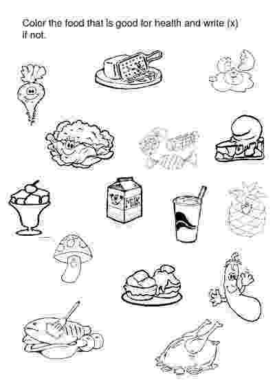 worksheet for kindergarten food food alphabet for kindergarten worksheet food