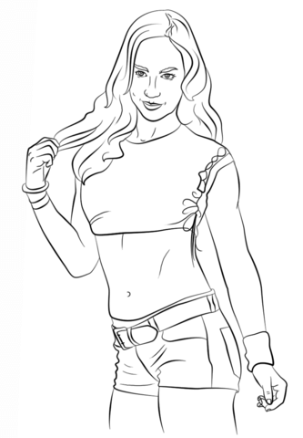wwe diva coloring pages wwe divas championship coloring coloring pages diva pages wwe coloring