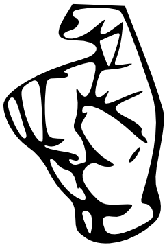 x in sign language tux paint stamp browser symbols 21 30 sign language x in