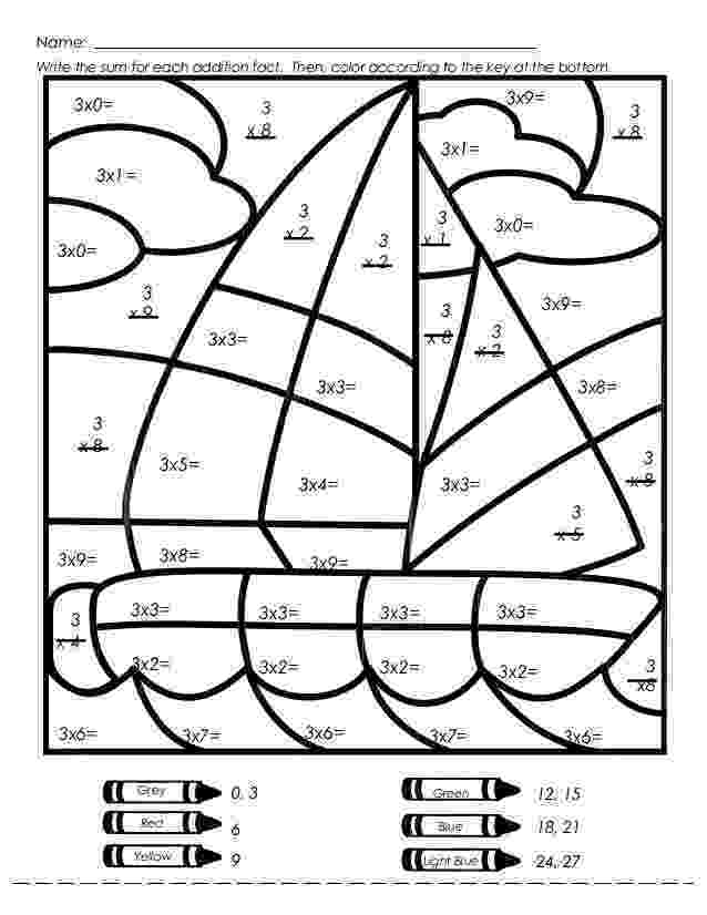 year 3 colouring worksheets three themed number tracing pages ocean spring or farm colouring 3 worksheets year