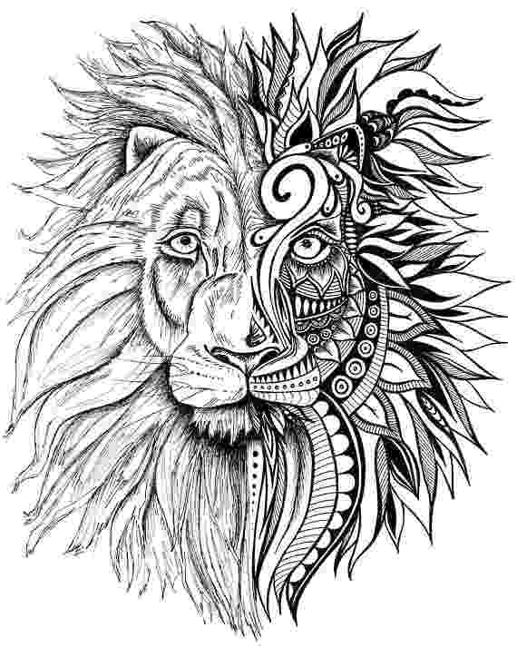 zentangle lion items similar to zentangle lion print on etsy zentangle lion
