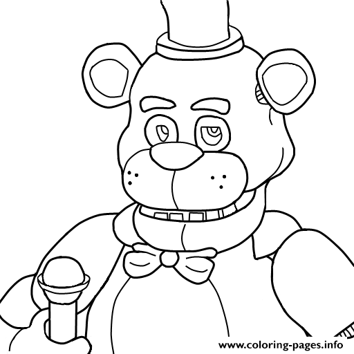 5 nights at freddys colouring pictures five nights at freddy39s coloring pages print and colorcom colouring pictures at nights 5 freddys