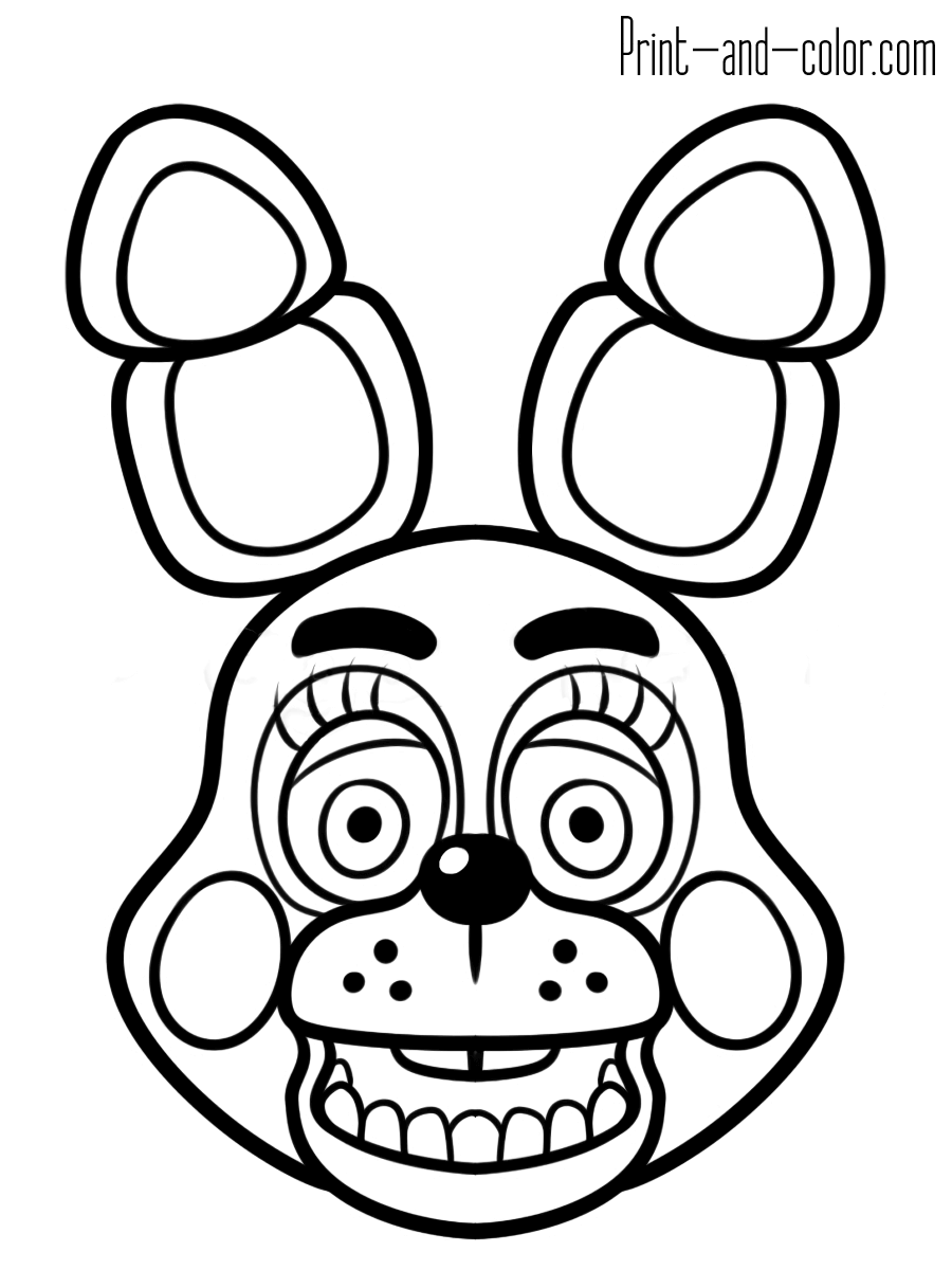 5 nights at freddys colouring pictures five nights at freddys coloring pages to download and 5 freddys colouring at pictures nights