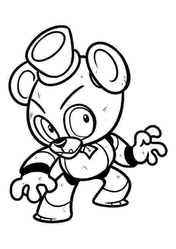 5 nights at freddys colouring pictures fnaf coloring pages 24 coloring pages for kids colouring at nights freddys 5 pictures