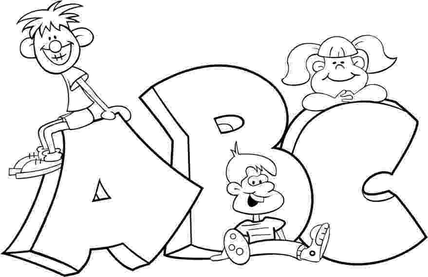 abc coloring sheets a z alphabet coloring pages download and print for free abc sheets coloring