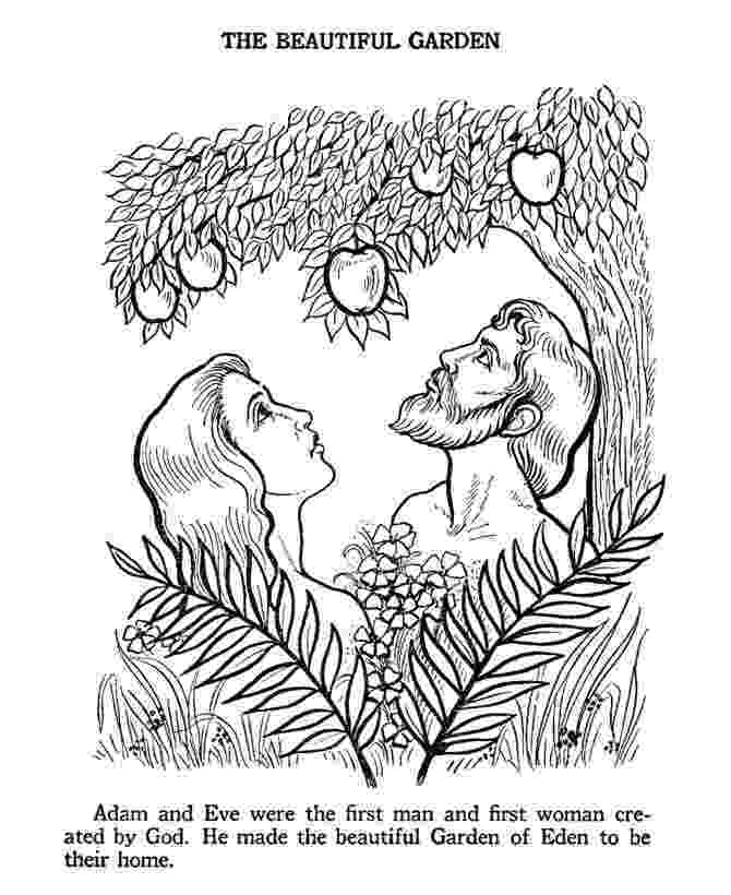 adam and eve coloring pages adam eve bible story colouring page bible coloring eve pages adam coloring and