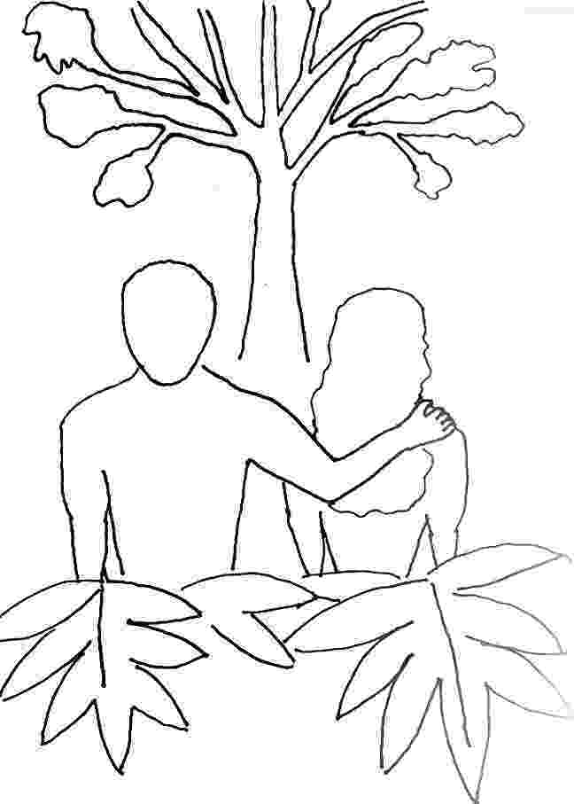 adam and eve coloring pages coloring page for adam and eve free bible stories for adam pages coloring eve and