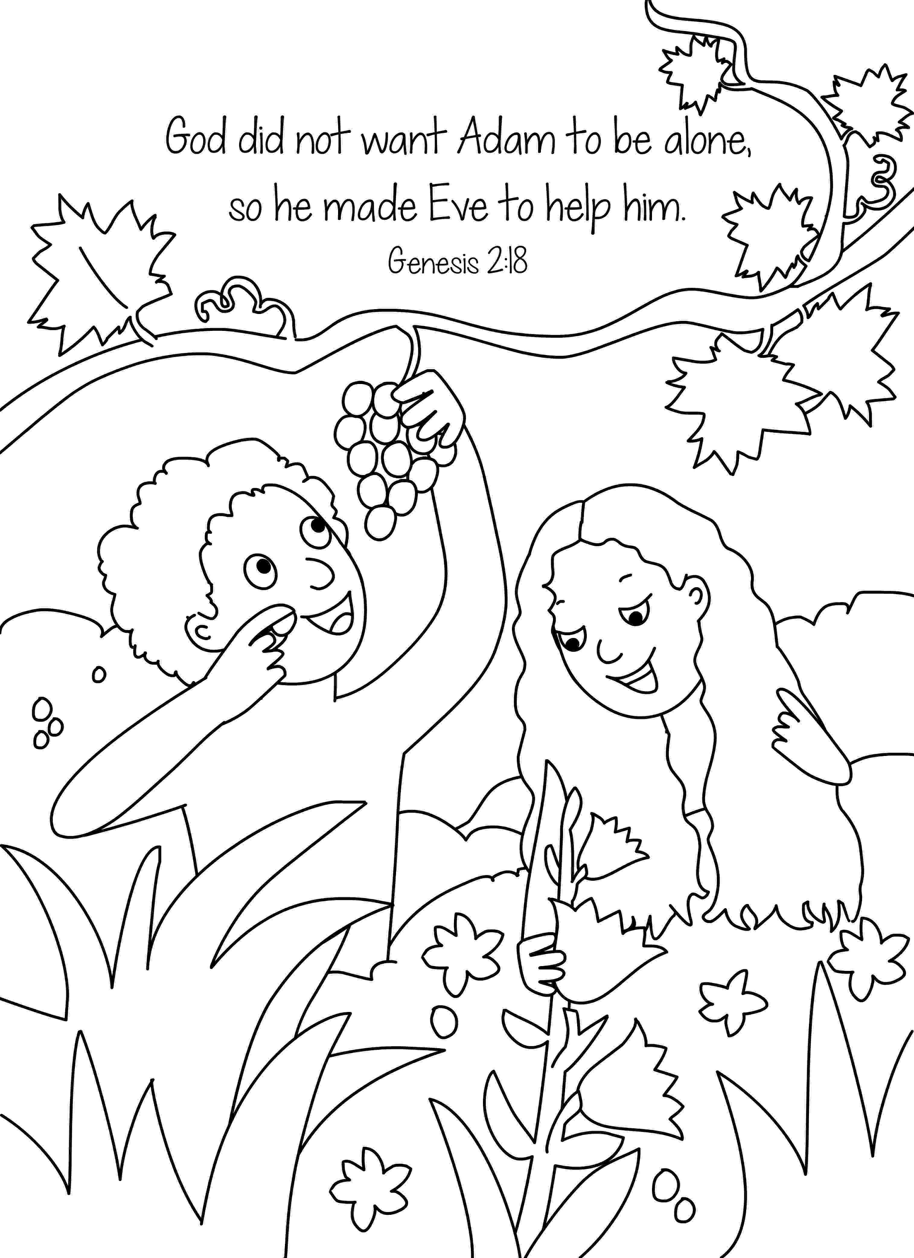 adam and eve coloring pages fall of adam and eve coloring page free printable eve and adam coloring pages