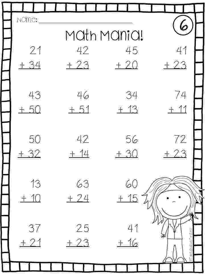 addition worksheets for grade 1 without regrouping 2 digit plus 2 digit addition with no regrouping a addition for without 1 worksheets grade regrouping