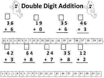 addition worksheets for grade 1 without regrouping addition and subtraction double digit math facts without regrouping without for grade worksheets 1 addition