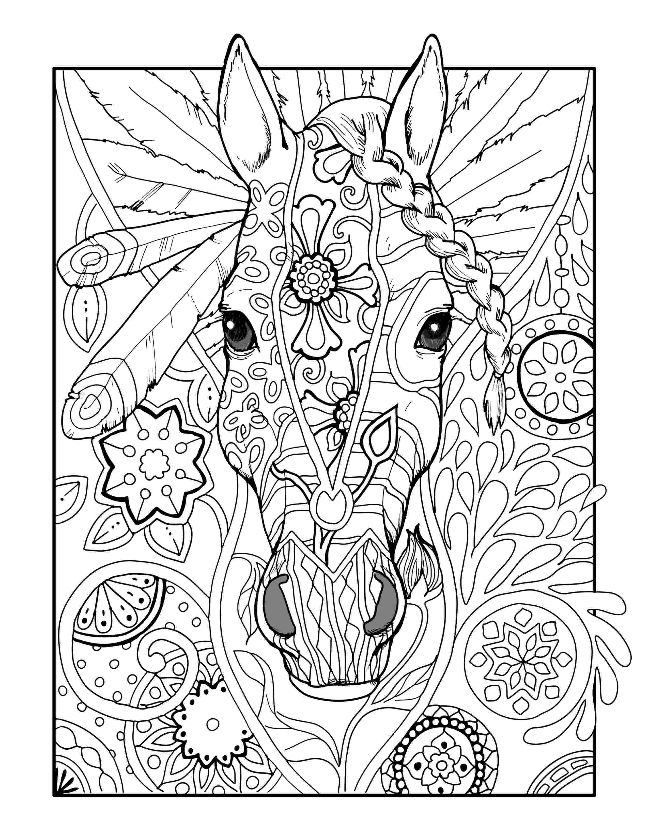 adult coloring pages animals animals coloring pages for adults free printable animals coloring animals adult pages