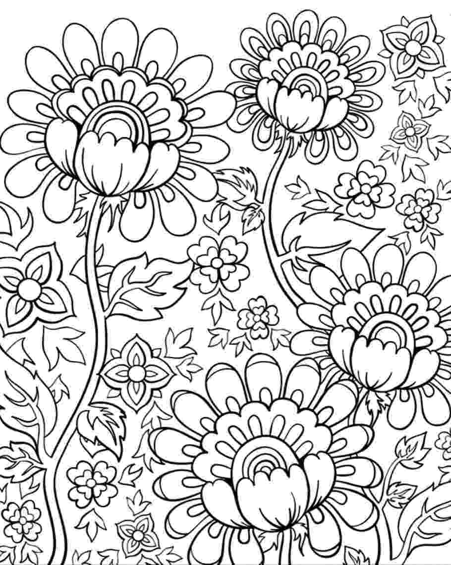 adult flower coloring pages free coloring pages adult coloring worldwide flower coloring pages adult