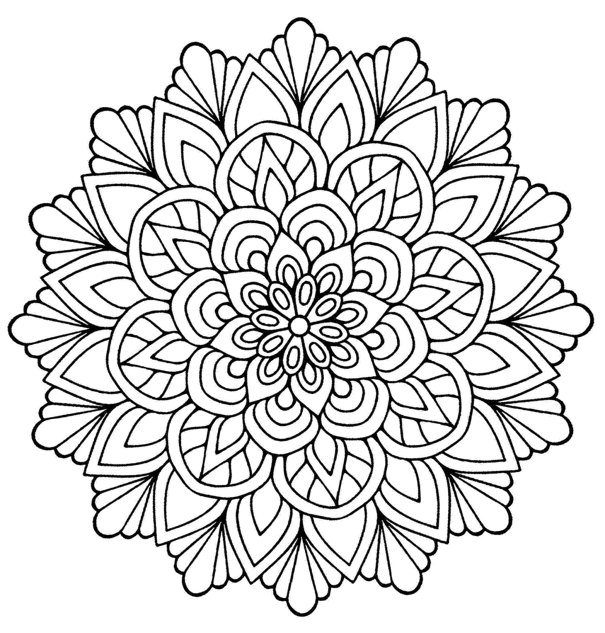 adult mandala coloring pages mandala coloring pages for kids to download and print for free pages adult coloring mandala