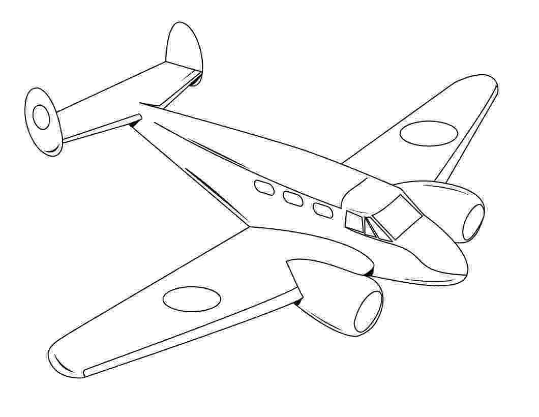 aeroplane coloring free printable airplane coloring pages for kids cool2bkids coloring aeroplane
