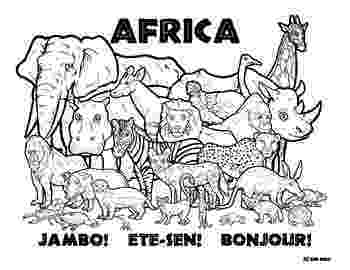 african animals coloring pages african animals coloring pages getcoloringpagescom african animals coloring pages