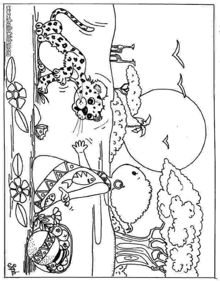 african animals coloring pages giraffe and antelope coloring page dierentuindieren african pages coloring animals