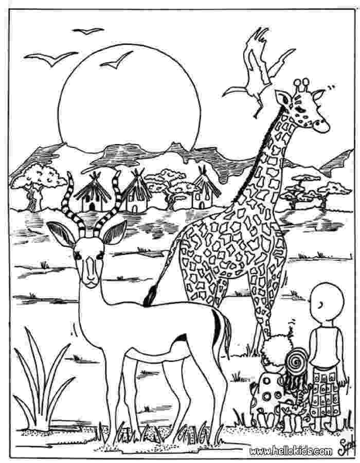african savanna coloring pages savanna african animals coloring page exploring nature savanna african pages coloring