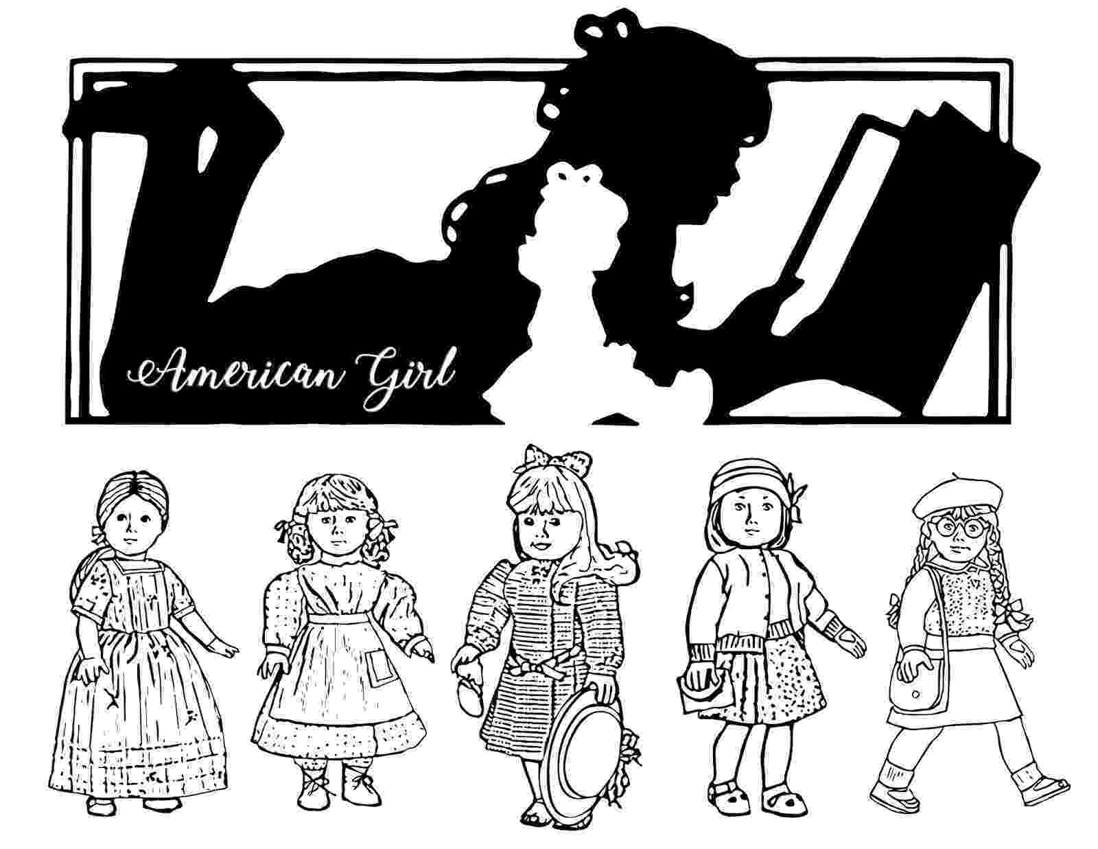 ag coloring pages free girl doll coloring pages ag pages coloring