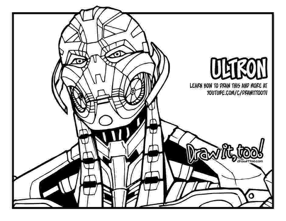 age of ultron coloring book how to draw ultron avengers age of ultron drawing book of ultron coloring age