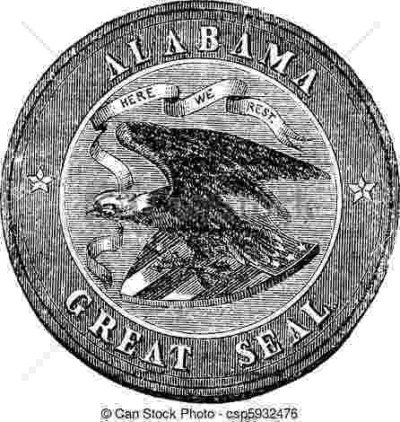 alabama state seal picture state seal frames church hill classics state seal alabama picture