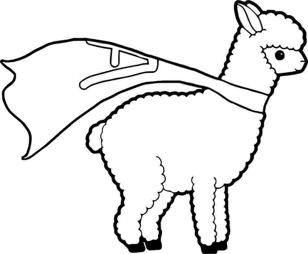alpaca coloring pages alpaca coloring pages free printable alpacas coloring pages alpaca pages coloring