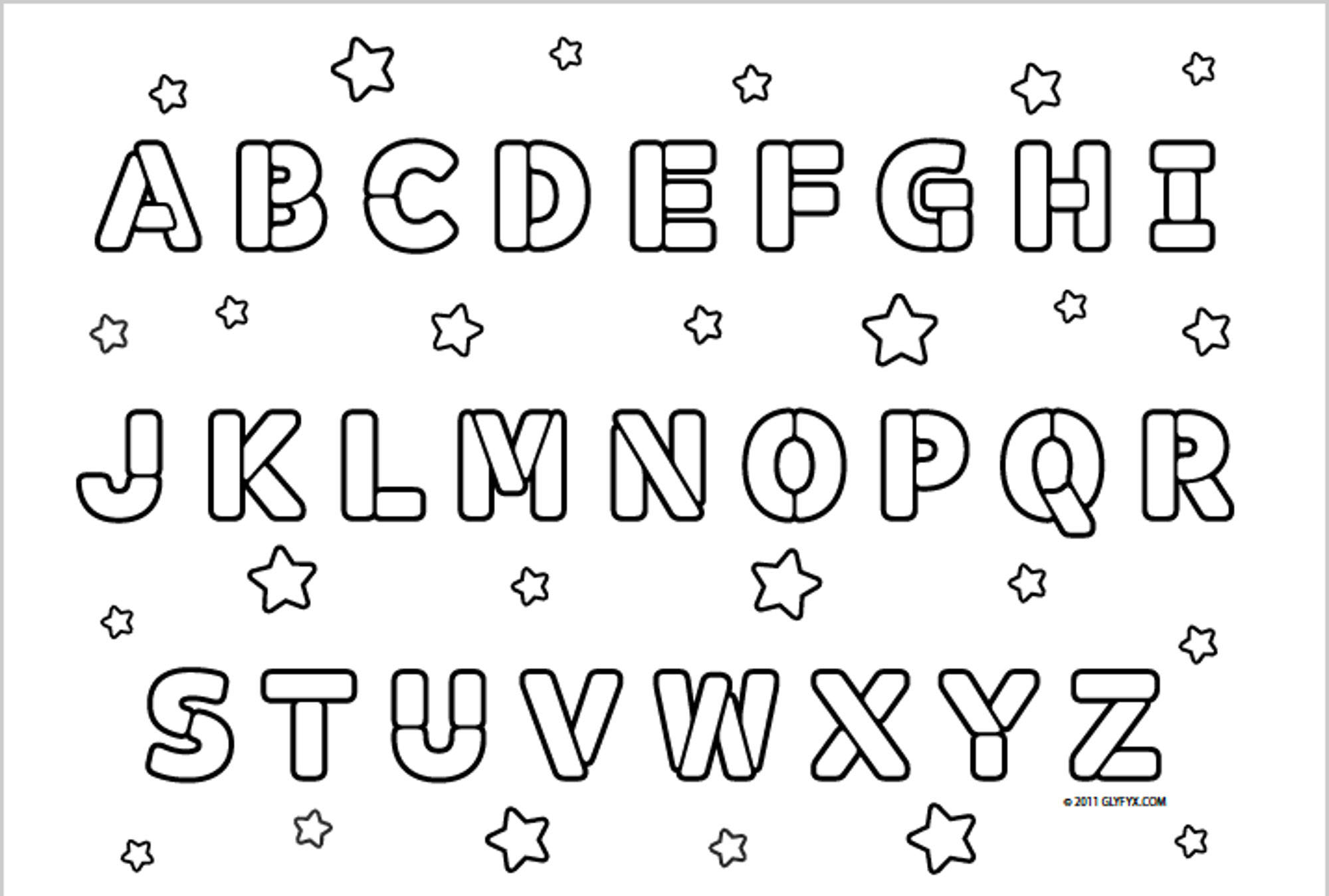 alphabet coloring alphabet flash cards coloring pages download and print for alphabet coloring
