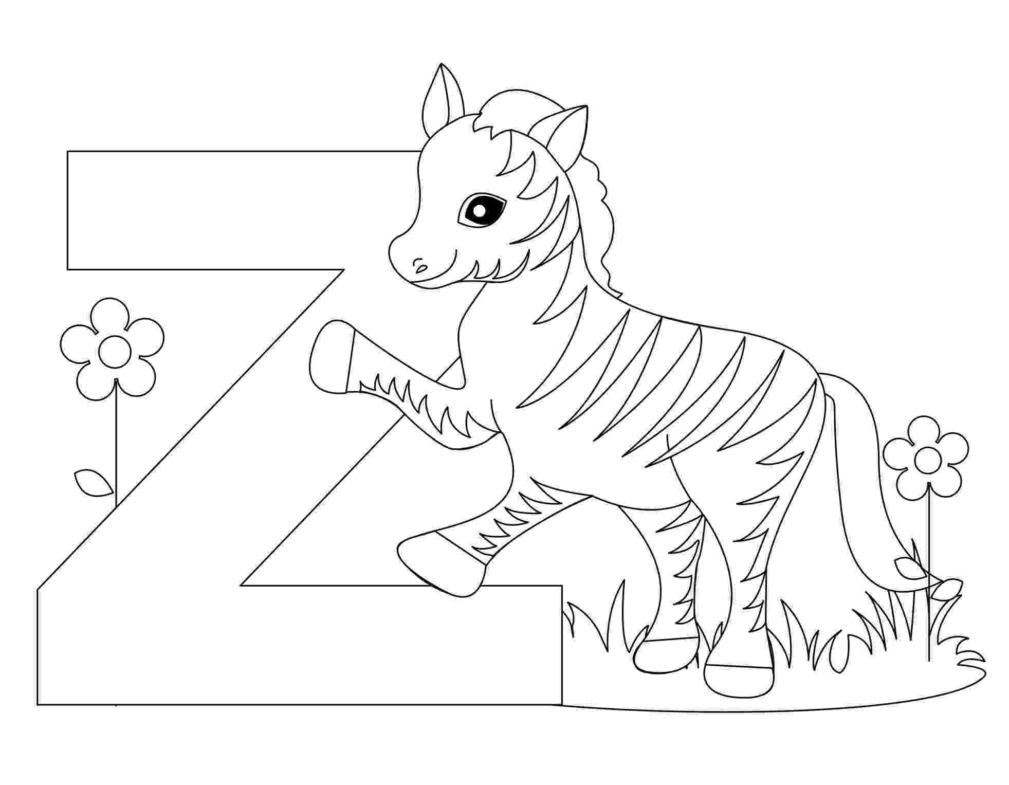 alphabet coloring free printable alphabet coloring pages for kids best coloring alphabet 1 7