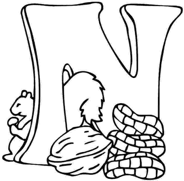 alphabet n coloring pages letter n is for nest coloring page free printable pages coloring alphabet n
