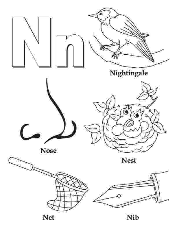 alphabet n coloring pages my a to z coloring book letter n coloring page alphabet pages alphabet coloring n