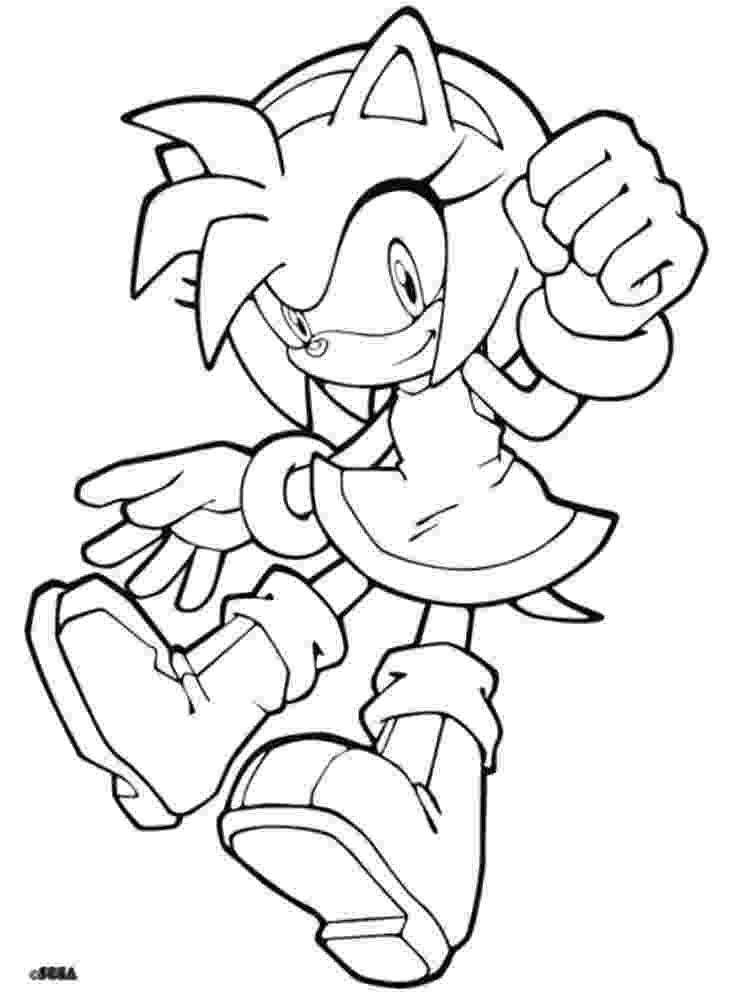 amy rose coloring pages amy rose coloring pages to download and print for free pages rose coloring amy 1 1