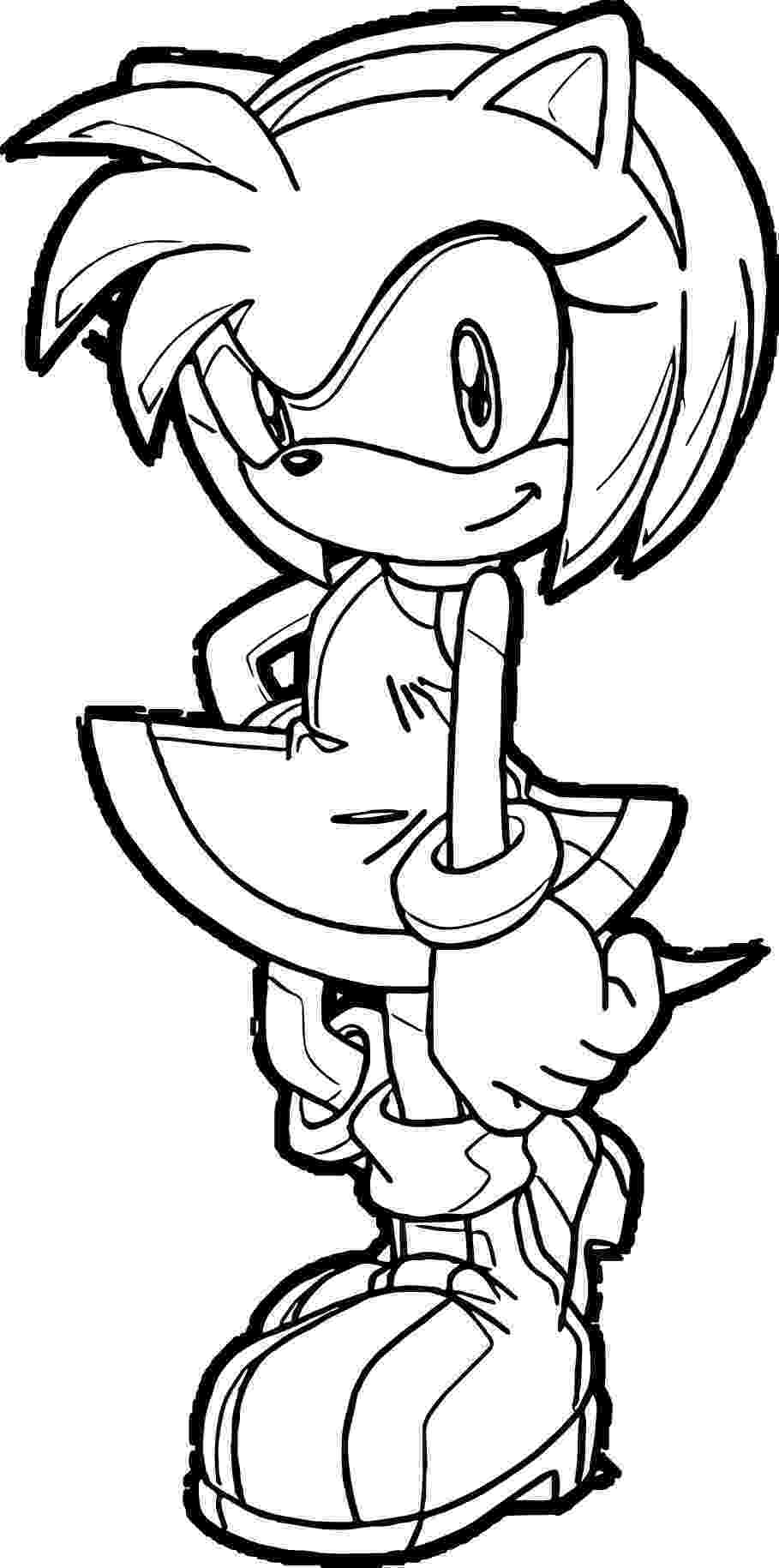 amy rose coloring pages amy rose coloring pages to download and print for free rose coloring pages amy