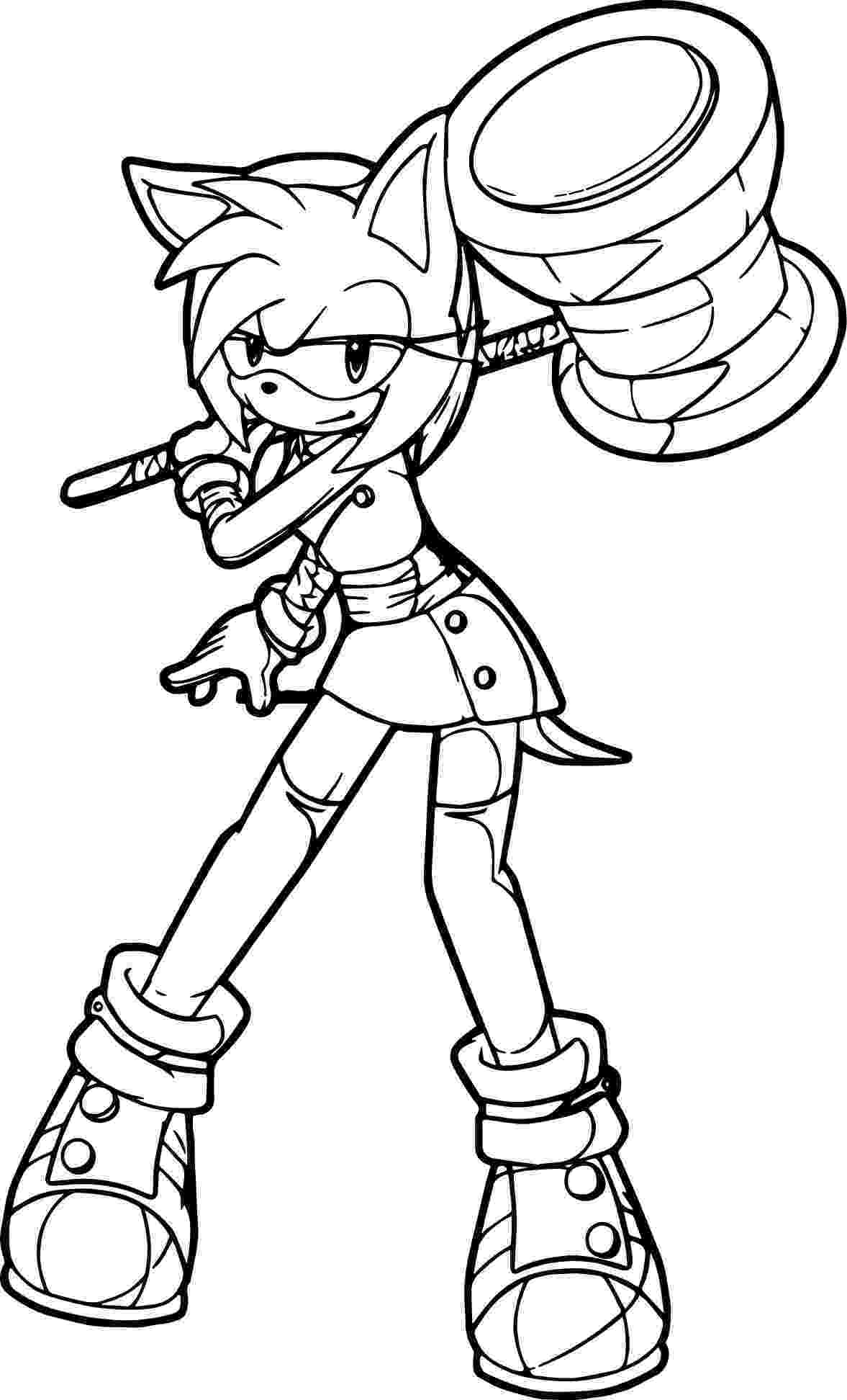 amy rose coloring pages sonic the hedgehog coloring pages 360coloringpages amy rose pages coloring