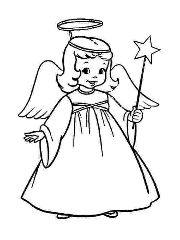 angel flower girl coloring book a charming little girl in angel costume on christmas flower angel book coloring girl