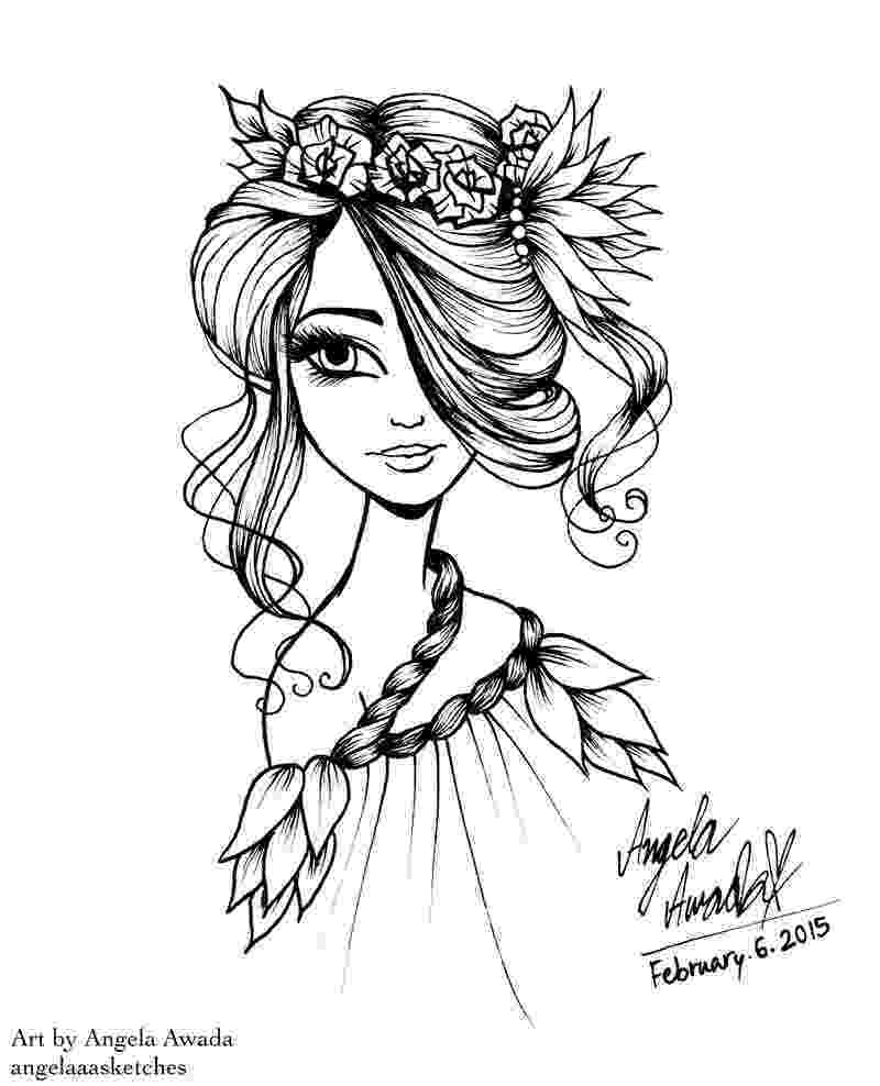 angel flower girl coloring book free printable angel coloring pages for kids angels to book angel coloring flower girl