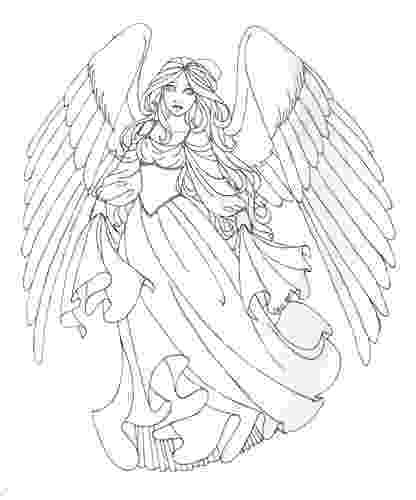 angel flower girl coloring book halo a little girl angel with halo over her head coloring book angel coloring girl flower