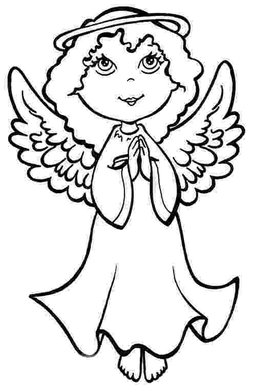 angel pictures to color angel coloring pages getcoloringpagescom angel to color pictures
