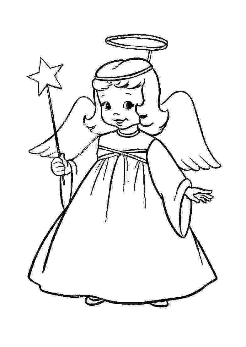 angel pictures to color christmas angel coloring pages to pictures color angel