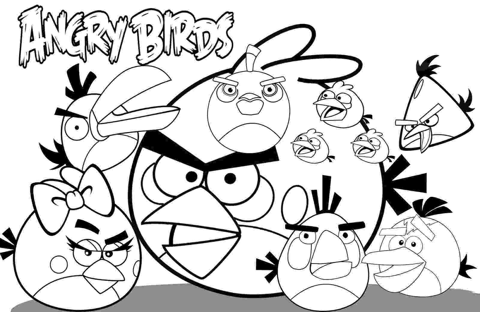 angry coloring pages free printable angry bird coloring pages for kids angry pages coloring