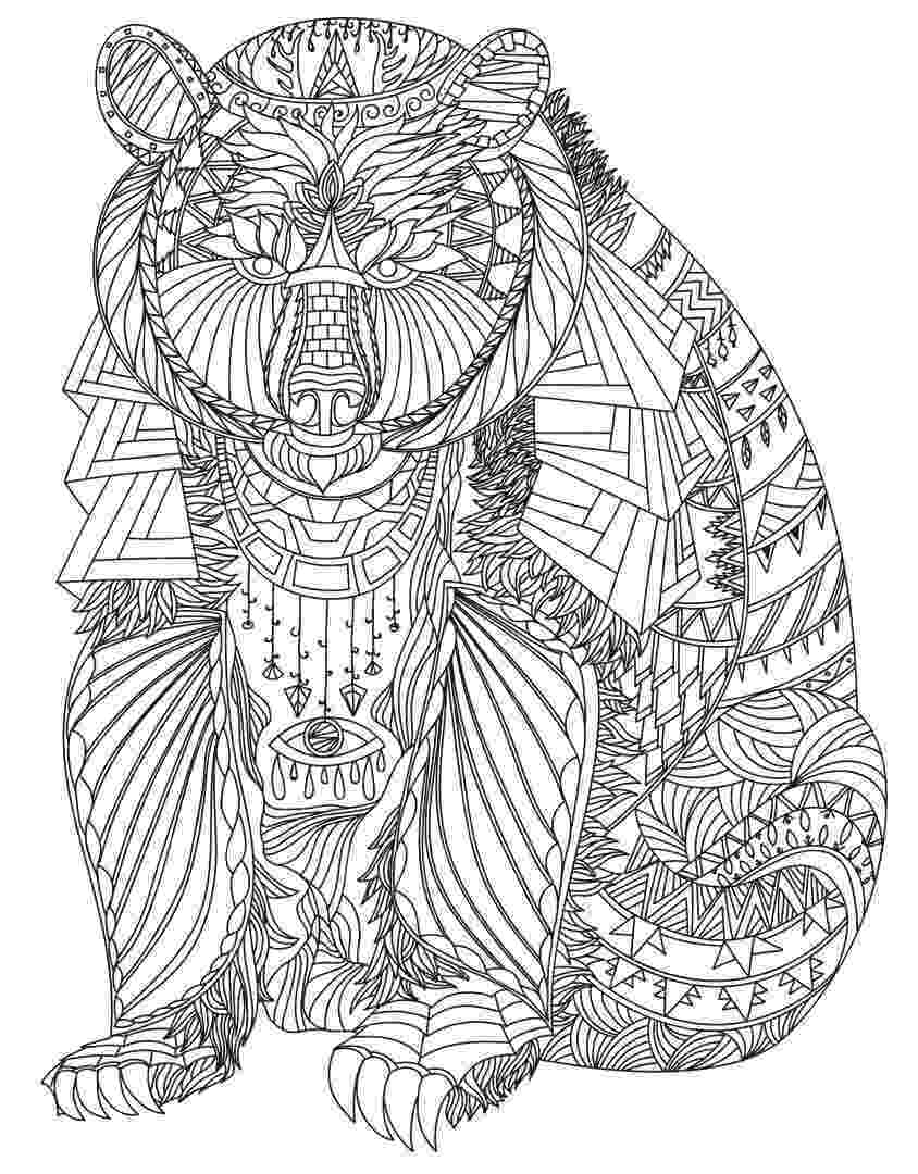 animal coloring book for adults pin on colorings adults for book animal coloring
