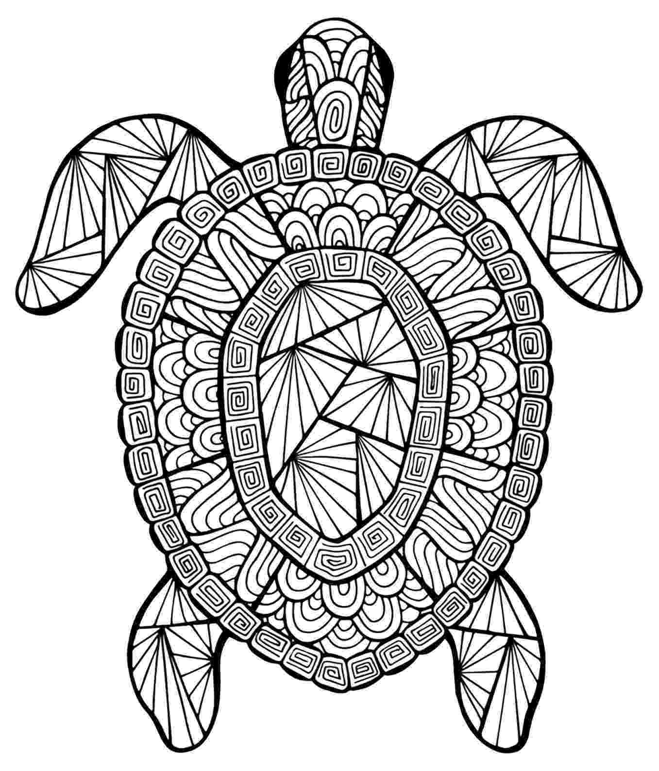 animal mandala color this incredible turtle from the gallery animals mandala animal