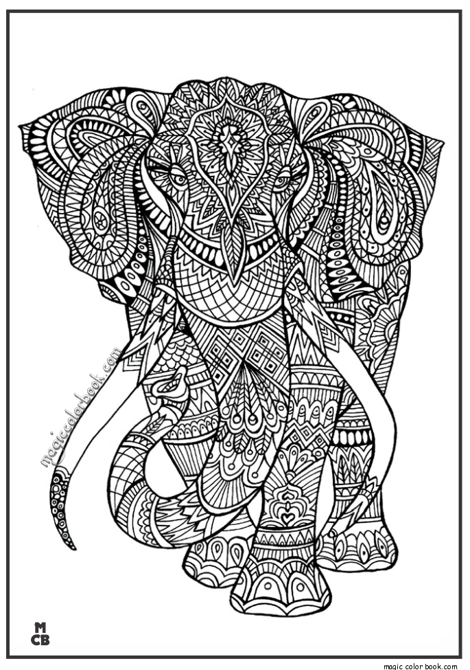 animal patterns colouring pages adult bear archives magic color book elephant coloring patterns animal pages colouring