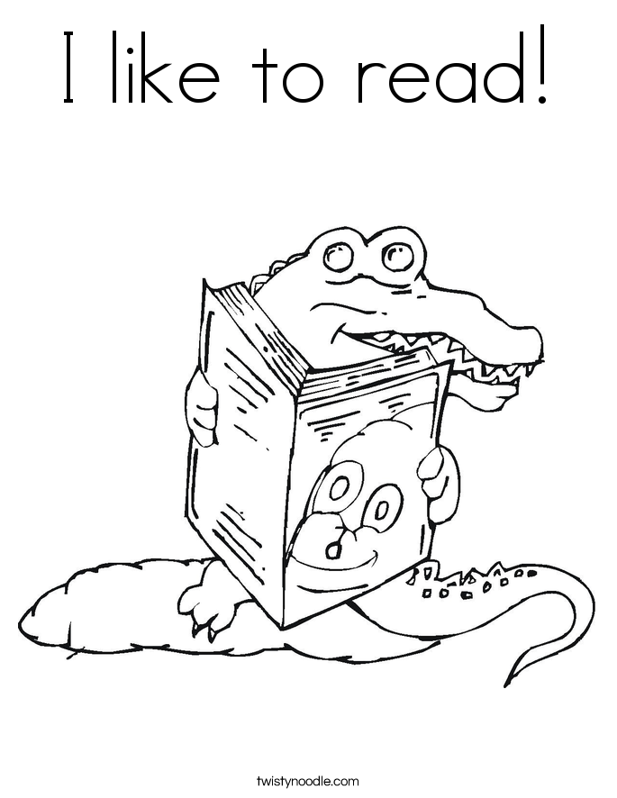 animal reading coloring page i like to read coloring page twisty noodle animal coloring page reading