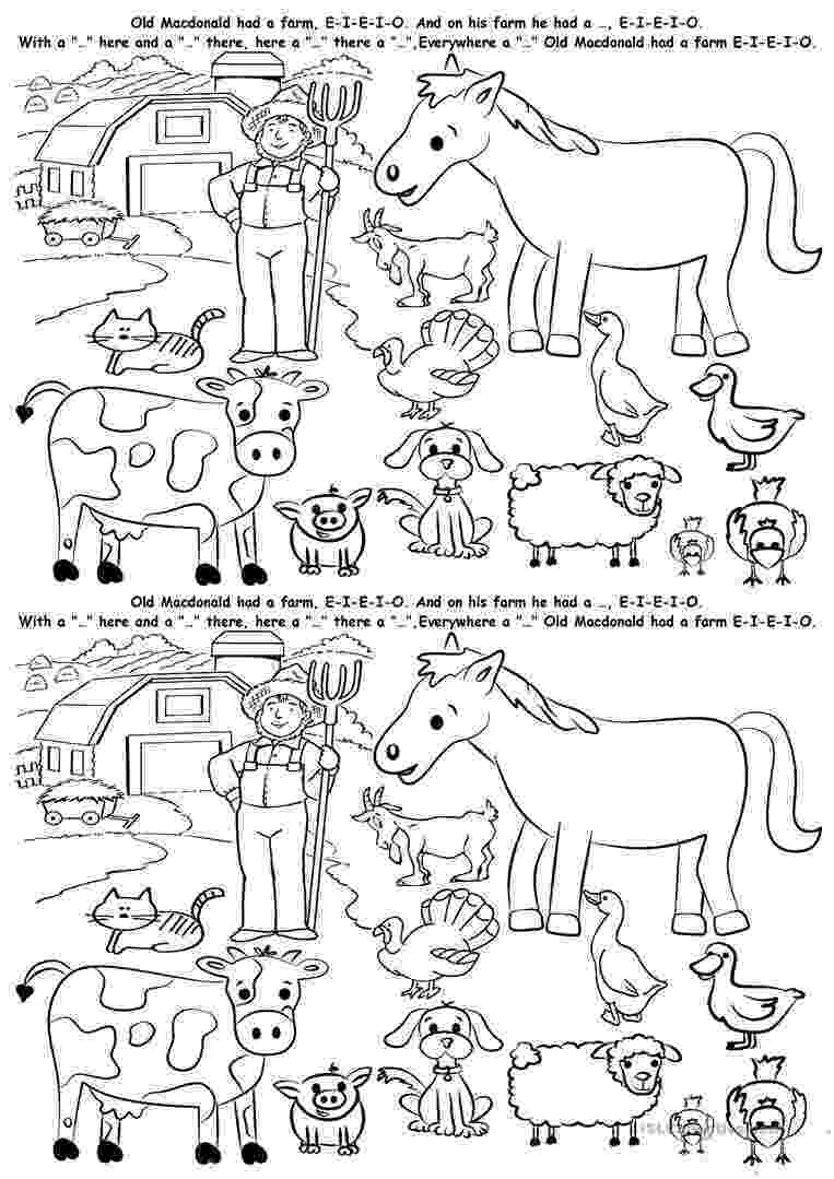 animals coloring worksheets for kindergarten farm animals worksheet free esl printable worksheets for worksheets kindergarten coloring animals