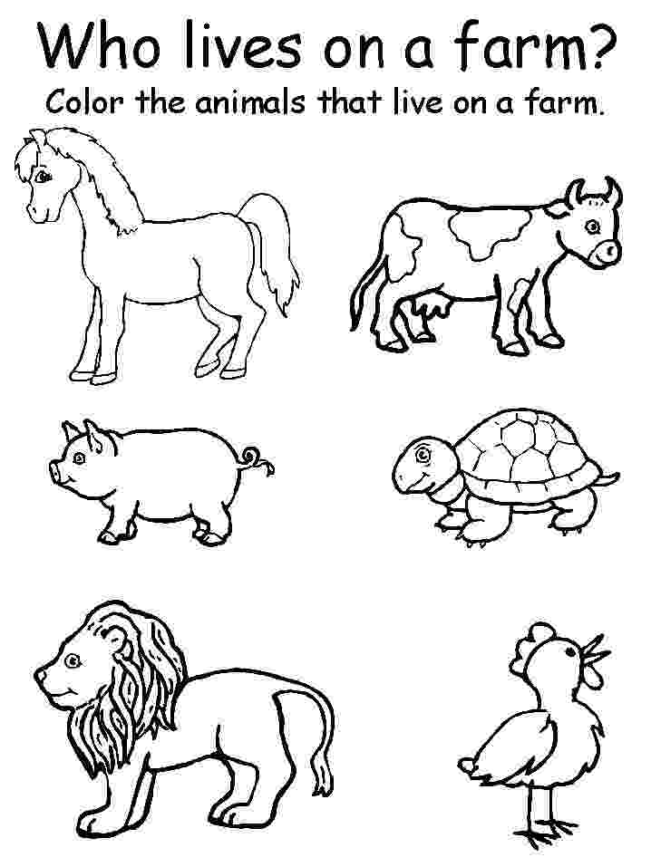 animals coloring worksheets for kindergarten free esl classes in houston texas english as a second animals kindergarten for worksheets coloring