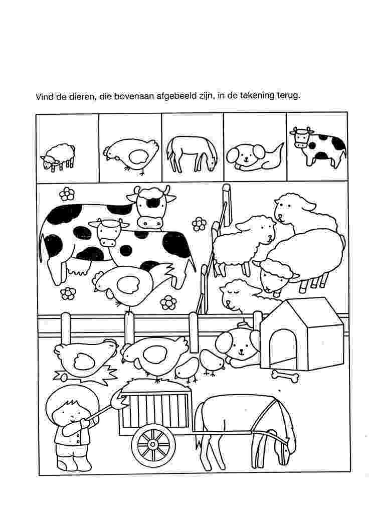 animals coloring worksheets for kindergarten printable farm animal worksheet for kids 2 crafts and kindergarten animals for coloring worksheets